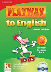 Playway to English 2nd Edition 3. Teacher's Resource Pack with Audio CD - фото обкладинки книги