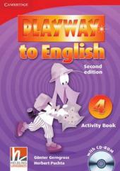 Playway to English 2nd Edition 4. Activity Book with CD-ROM - фото обкладинки книги
