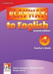 Playway to English 2nd Edition 4. Teacher's Book - фото обкладинки книги