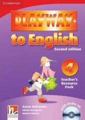 Playway to English 2nd Edition 4. Teacher's Resource Pack with Audio CD - фото обкладинки книги