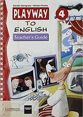 Playway to English 4 Teacher's Guide - фото обкладинки книги