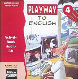 Аудіодиск Playway to English Activity Book Audio CD