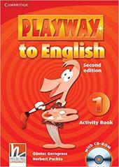 Аудіодиск Playway to English Level 1 Activity Book with CD-ROM