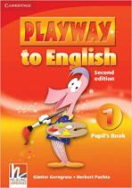 Аудіодиск Playway to English Level 1 Pupil's Book