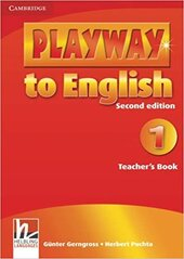 Playway to English Level 1 Teacher's Book - фото обкладинки книги