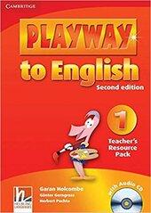 Playway to English Level 1 Teacher's Resource Pack with Audio CD - фото обкладинки книги