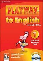 Книга для вчителя Playway to English Level 1 Teacher's Resource Pack with Audio CD