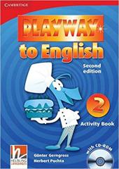 Playway to English Level 2 Activity Book with CD-ROM - фото обкладинки книги