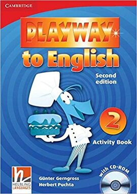 Playway to English Level 2 Activity Book with CD-ROM - фото книги