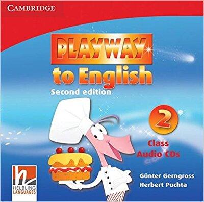 Аудіодиск Playway to English Level 2 Class Audio CDs