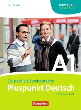 Pluspunkt Deutsch A1/2. Kursbuch (Einheit 8-14) - фото книги