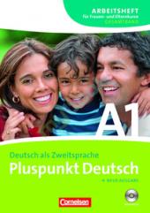 Pluspunkt Deutsch A1. Arbeitsheft fur Frauen- und Elternkurse mit CD - фото обкладинки книги