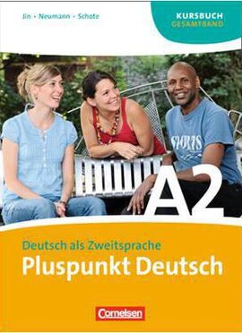 Pluspunkt Deutsch A2/1. Arbeitsbuch mit Audio CD (Einheit 1-7) - фото книги