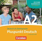 Pluspunkt Deutsch A2/1. Audio CD - фото обкладинки книги