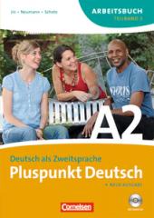 Pluspunkt Deutsch A2/2. Arbeitsbuch mit Audio CD (Einheit 8-14) - фото обкладинки книги