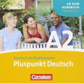 Pluspunkt Deutsch A2/2. Audio CD - фото обкладинки книги