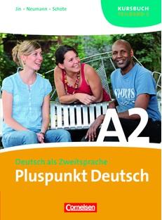Pluspunkt Deutsch A2/2. Kursbuch (Einheit 8-14) - фото книги