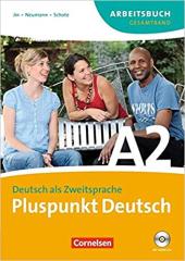 Pluspunkt Deutsch A2. Arbeitsbuch mit Audio CD - фото обкладинки книги
