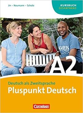 Pluspunkt Deutsch A2. Kursbuch - фото книги