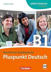 Pluspunkt Deutsch B1/1. Arbeitsbuch mit Audio CD (Einheit 1-7) - фото обкладинки книги