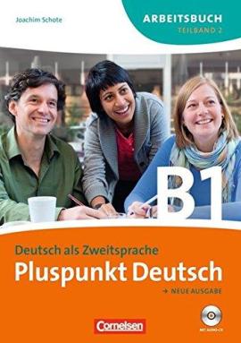 Pluspunkt Deutsch B1/2. Arbeitsbuch mit Audio CD (Einheit 8-14) - фото книги