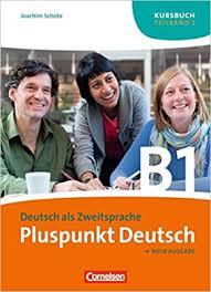 Pluspunkt Deutsch B1/2. Kursbuch (Einheit 8-14) - фото книги