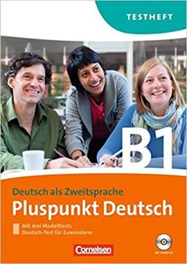 Pluspunkt Deutsch B1. Testheft+CD (тестові завдання до підручника+диск) - фото книги