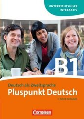 Pluspunkt Deutsch B1. Unterrichtshilfe Interaktiv CD-ROM (інтерактивний комп'ютерний диск) - фото обкладинки книги
