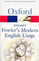 Pocket Fowler's Modern English Usage - фото обкладинки книги