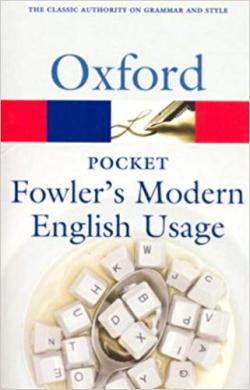 Pocket Fowler's Modern English Usage - фото книги