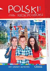Polski, krok po kroku Junior 1 Gry i zabawy jzykowe - фото обкладинки книги