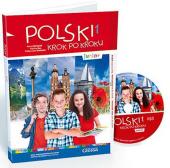 Polski, krok po kroku Junior 1 Podrcznik + Mp3 CD + kod dostpy - фото обкладинки книги