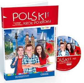 Polski, krok po kroku Junior 1 Podrcznik + Mp3 CD + kod dostpy - фото книги