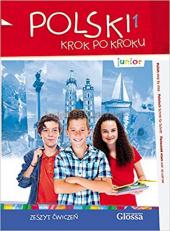 Polski, krok po kroku Junior 1 Zeszyt wicze + Mp3 CD + e-Coursebook - фото обкладинки книги