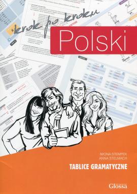 Polski, Krok po Kroku. Tablice Gramatyczne. Levels A1/A2/B1 - фото книги
