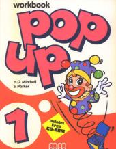 Pop Up 1. Workbook (+ CD-ROM) - фото обкладинки книги