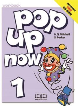Pop Up Now 1. Workbook (+ CD-ROM) - фото книги