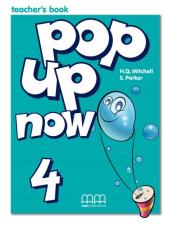 Pop Up Now 4. Teacher's Book - фото обкладинки книги