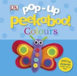 Pop-Up Peekaboo! Colours - фото книги
