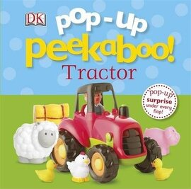 Pop-Up Peekaboo! Tractor - фото книги