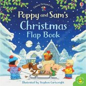 Poppy and Sam's Lift-the-Flap Christmas - фото обкладинки книги