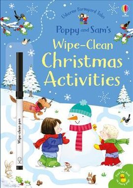 Poppy and Sam's Wipe-Clean. Christmas Activities - фото книги