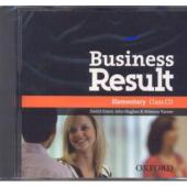 "Посібник ""Business Result Elementary: Class Audio CD (аудіодиск)"" Kate Baade, Michael Duckworth - фото обкладинки книги"