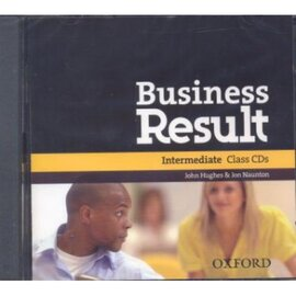 "Посібник ""Business Result Intermediate: Class Audio CD (аудіодиск)"" Kate Baade, Michael Duckworth - фото книги"