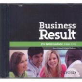 "Посібник ""Business Result Pre-Intermediate: Class Audio CD (аудіодиск)"" Kate Baade - фото обкладинки книги"