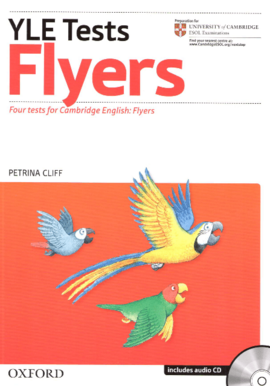 """Посібник""""Cambridge YLE Tests: Flyers Pack (Student's Book, Teacher's Book and Audio CD)"""" - фото книги"""