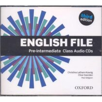 "Посібник ""English File 3rd Edition Intermediate: Class Audio CDs (аудіодиск)"" Clive Oxenden"
