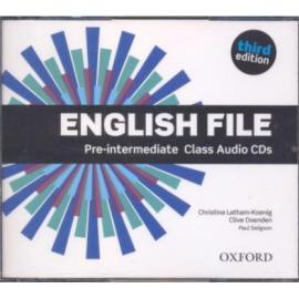 "Посібник ""English File 3rd Edition Intermediate: Class Audio CDs (аудіодиск)"" Clive Oxenden - фото книги"