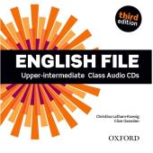 "Посібник ""English File 3rd Edition Upper-Intermediate: Class Audio CDs (аудіодиск)"" Clive Oxenden - фото обкладинки книги"