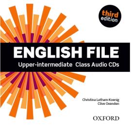 "Посібник ""English File 3rd Edition Upper-Intermediate: Class Audio CDs (аудіодиск)"" Clive Oxenden - фото книги"